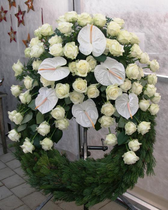 Blumen t rpitz deutsch trauerfloristik kr nze for Besondere topfpflanzen